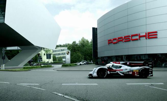 Audi da la bienvenida a Porsche a las 24h de Le Mans