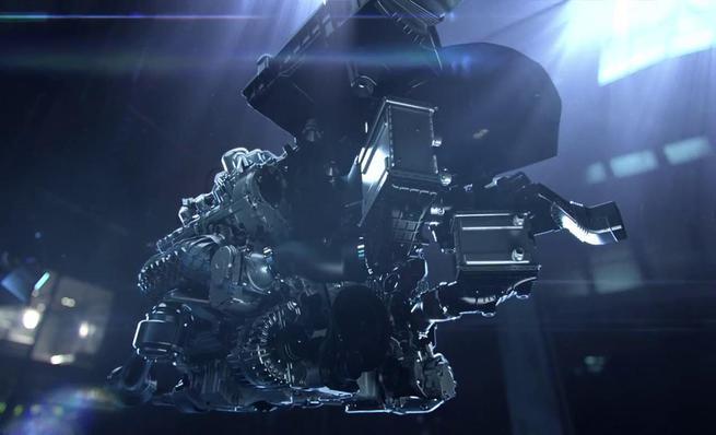 Presentación del motor del Mercedes-Benz AMG GT
