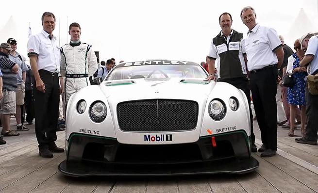 Bentley Continental GT3 de competición