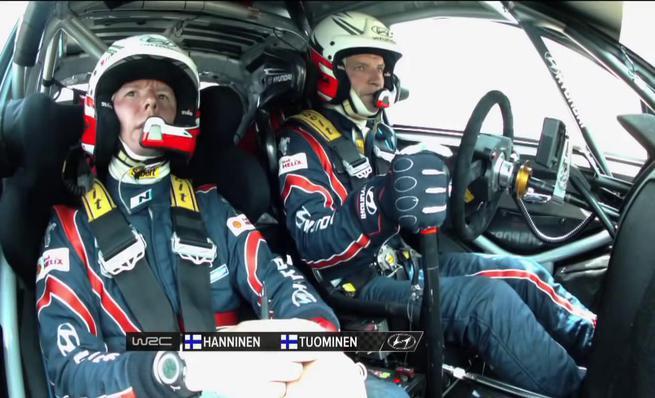 Accidente Juho Hänninen - SS5 Rally de Cerdeña 2014