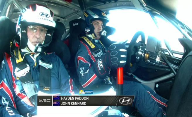 On board Hayden Paddon - SS11 Rally de Cerdeña 2014