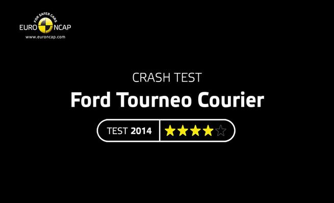 Crash Test: Ford Tourneo Courier 2014