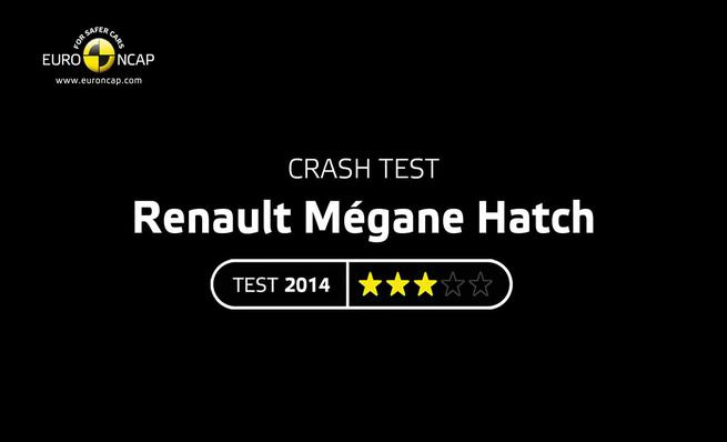 Crash Test: Renault Mégane 2014