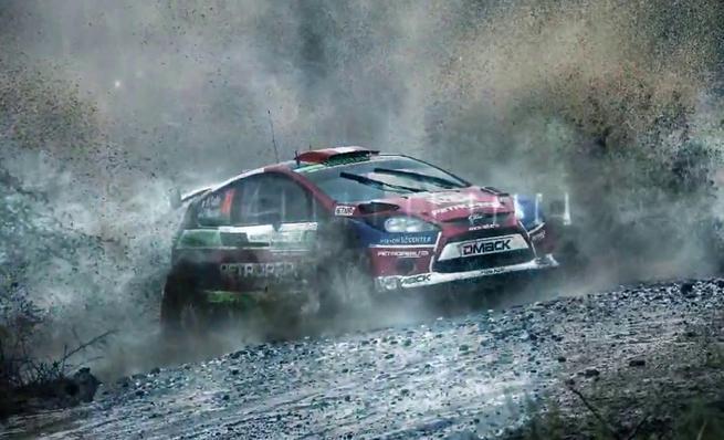 On board Nicolás Fuchs - Shakedown Rally de Polonia 2014