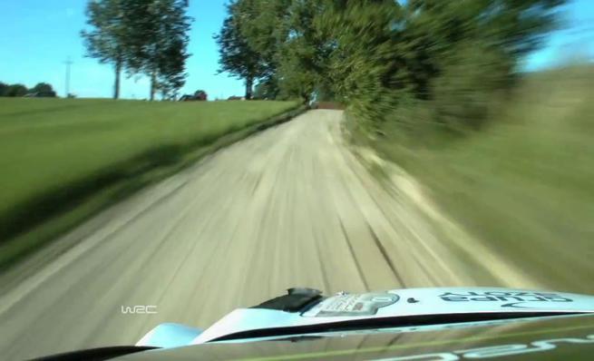 On board Robert Kubica - Accidente SS2 Rally de Polonia 2014