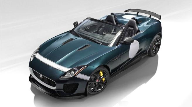 El Jaguar F-Type Project 7 en movimiento