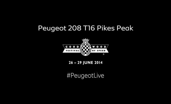 On board Sebastien Loeb - FoS Goodwood, Peugeot 208 T16 Pikes Peak