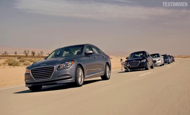 El Hyundai Genesis se pone a punto