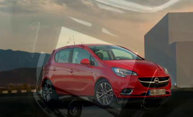 Opel Corsa 2015 - En movimiento