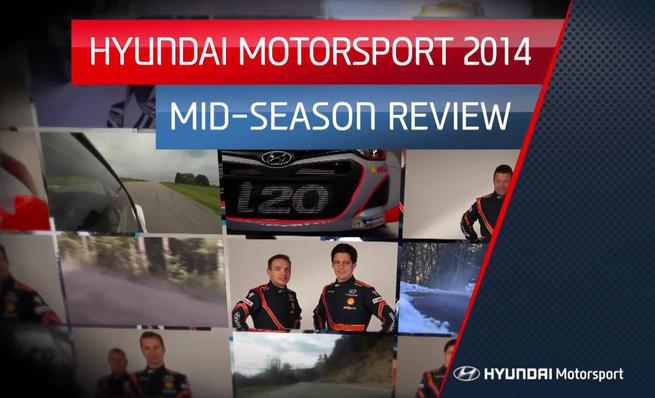 Hyundai Motorsport repasa el WRC 2014 hasta su mitad