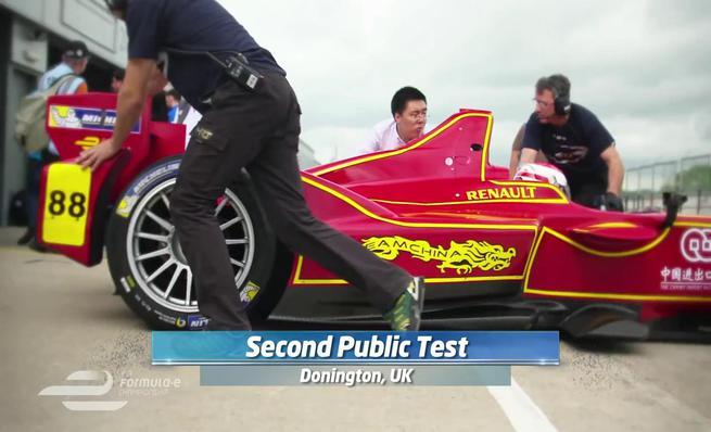 Resumen del segundo test de la Formula E en Donington