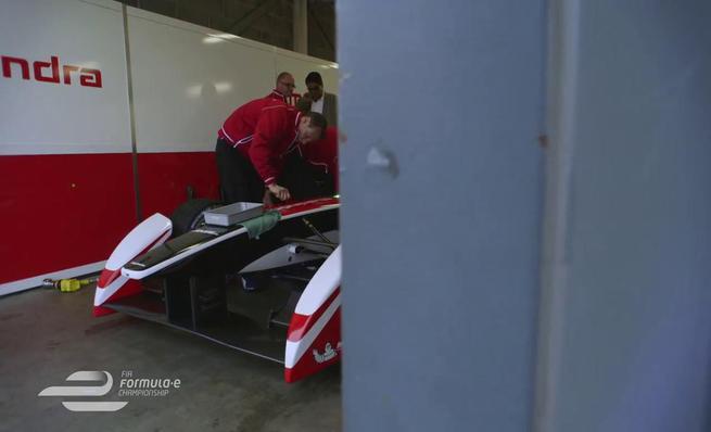 Seguimiento a Bruno Senna en los test de Formula E
