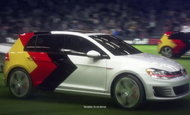 Volkswagen marca el gol del Mundial de Fútbol