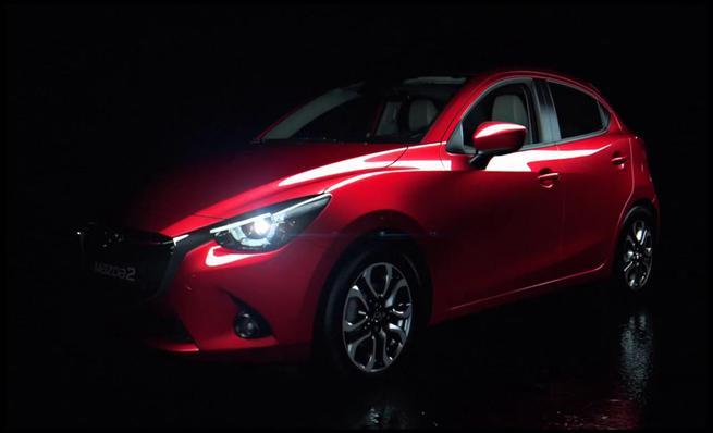 El nuevo Mazda 2 en movimiento