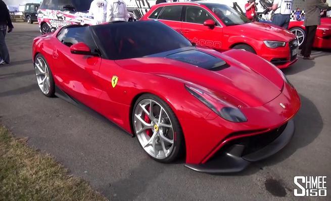 Análisis visual del Ferrari F12 TRS