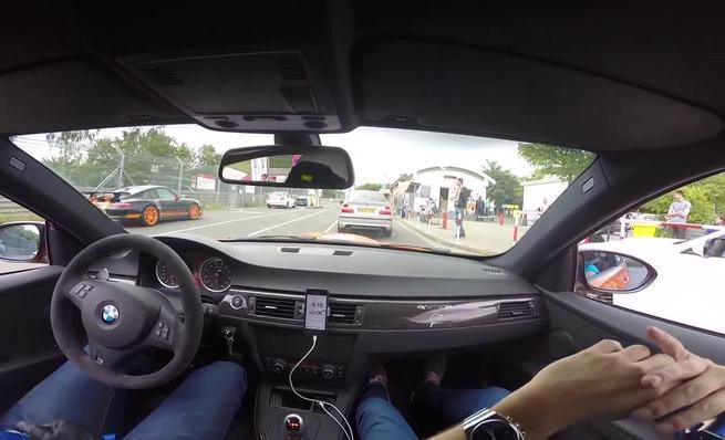BMW M3 e92 GTS Vs. BMW M5 F10 Ring Taxi