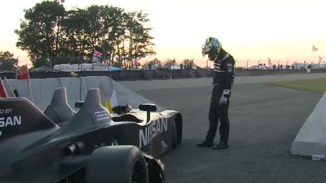 Motoyama intentó por todos los medios devolver el DeltaWing a la pista de Le Mans
