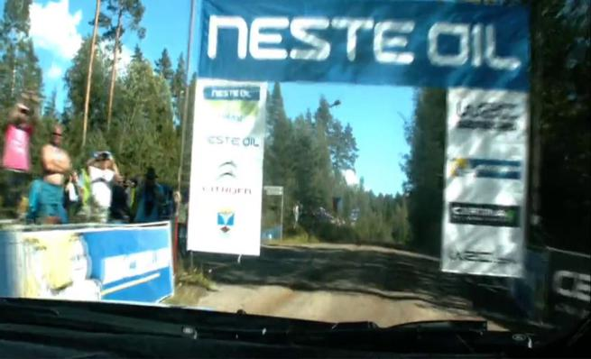 On board Mikko Hirvonen - SS9 Rally de Finlandia 2014