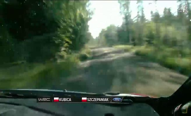 On board Robert Kubica - Accidente SS5 Rally de Finlandia 2014