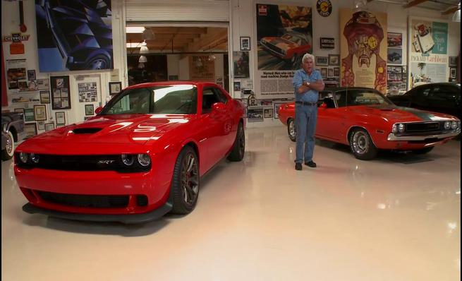Leno's Garage: Dodge Challenger Hellcat