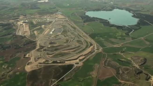 MotorLand Aragón desde el aire