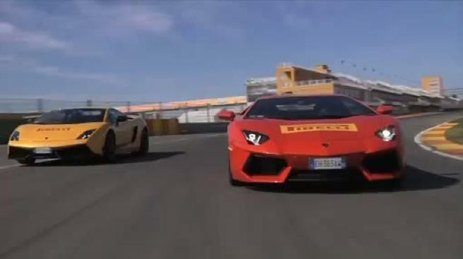 Pirelli prueba sus neumáticos en el Circuito de Valencia utilizando potentes deportivos