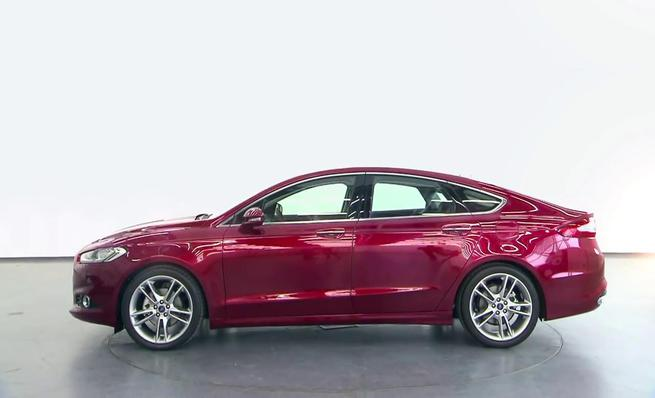 El nuevo Ford Mondeo para Europa