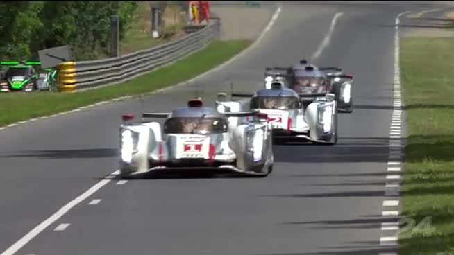 Resumen de la victoria de Audi en las 24 h de Le Mans 2012