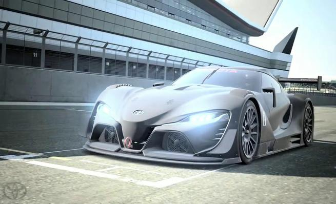 Toyota FT-1 Vision GT Race Concept