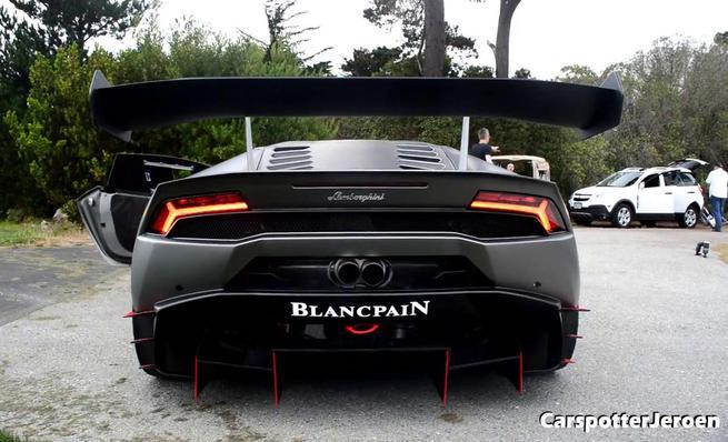 Sesión de fotos del Lamborghini Huracan LP 620-2 Super Trofeo