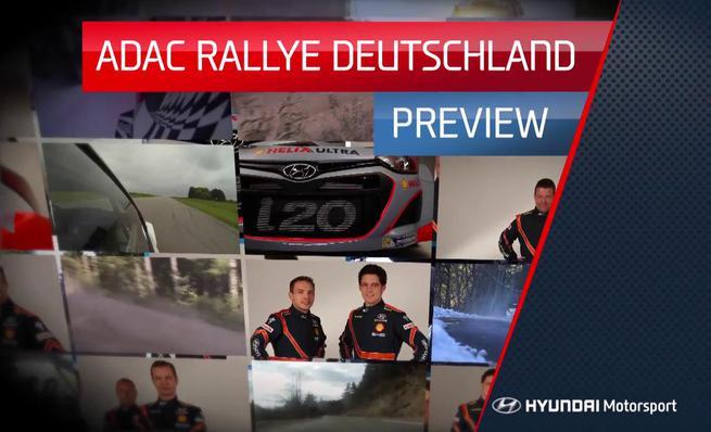 Previo de Hyundai Motorsport del Rally de Alemania del WRC 2014