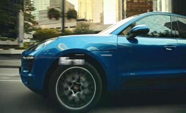 Porsche Macan Turbo: Suspensión neumática