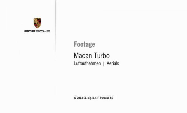 Porsche Macan Turbo: Tomas aéreas