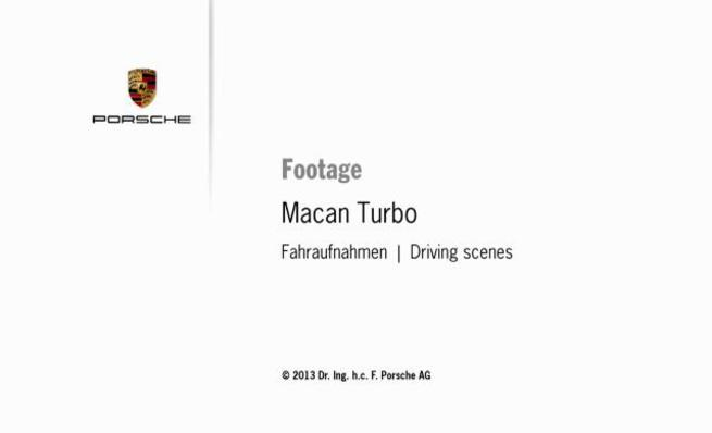 Porsche Macan Turbo: en movimiento