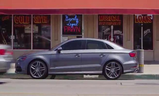 Spot de Audi: Barely Legal Pawn