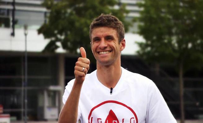 Tanda de penaltis entre Sebastien Ogier y Thomas Müller