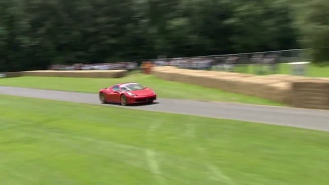 Ferrari 458 Spider en el Festival de la Velocidad de Goodwood