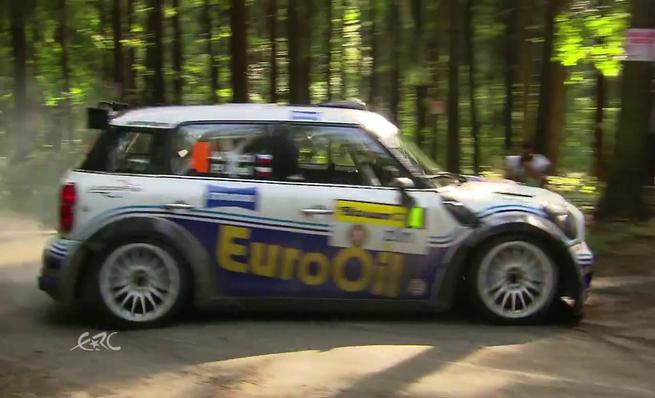 Los mejores momentos de la primera etapa del Barum Rally en video