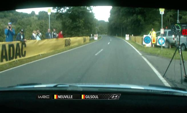 On board Thierry Neuville - SS17 Rally de Alemania 2014