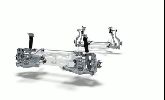 Jaguar XE: bastidor