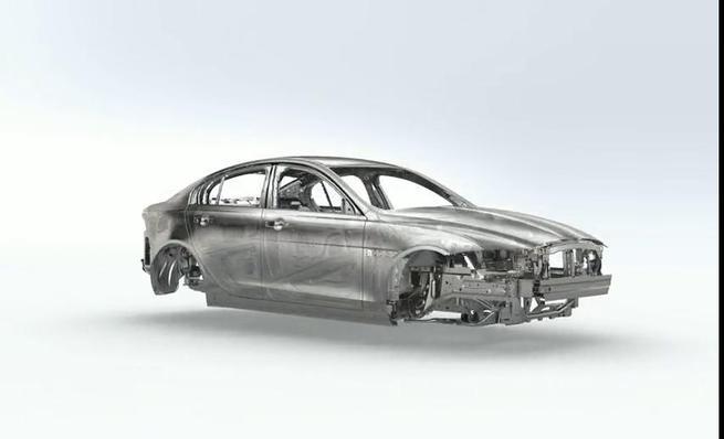 Jaguar XE: monocasco de aluminio