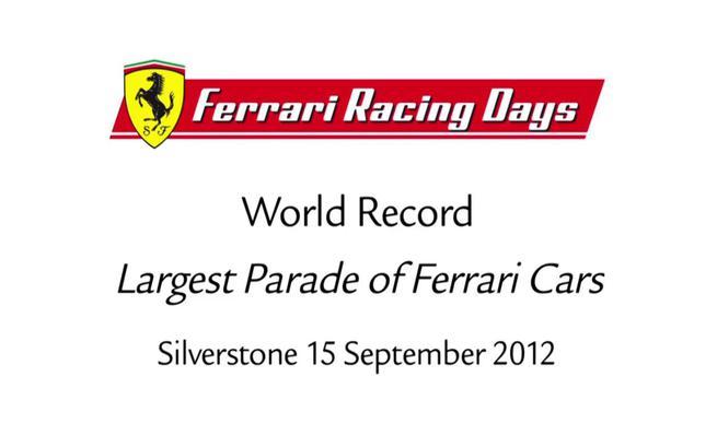 Récord Ferrari en Silverstone 2012