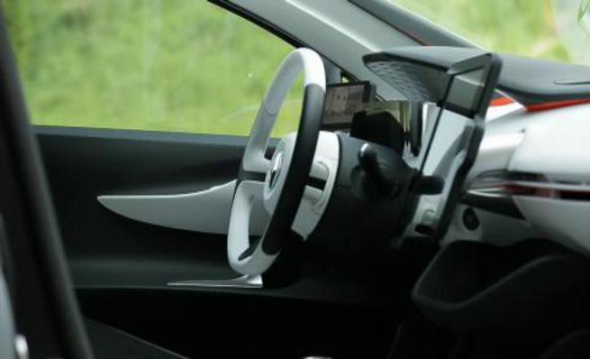 Renault EOLAB: Interior