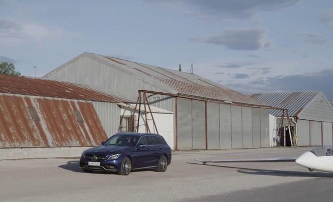 Mercedes-Benz C63 AMG S Estate - Diseño