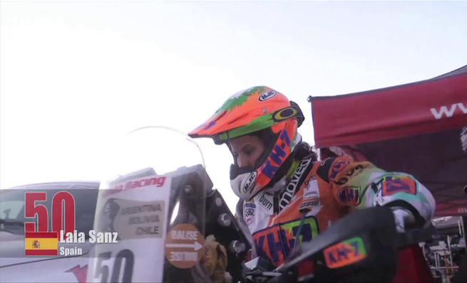 Laia Sanz ficha por Honda para el Dakar 2015