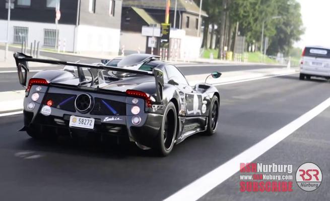 Pagani Zonda 760 LM visto en Nürburgring