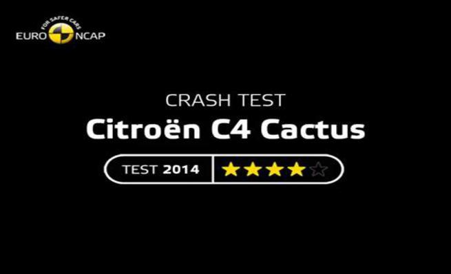 Crash test - Citroën C4 cactus