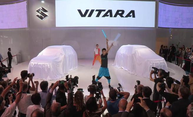 Presentación Suzuki Vitara 2015
