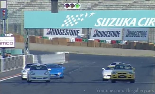 Carrera en Suzuka entre superdeportivos