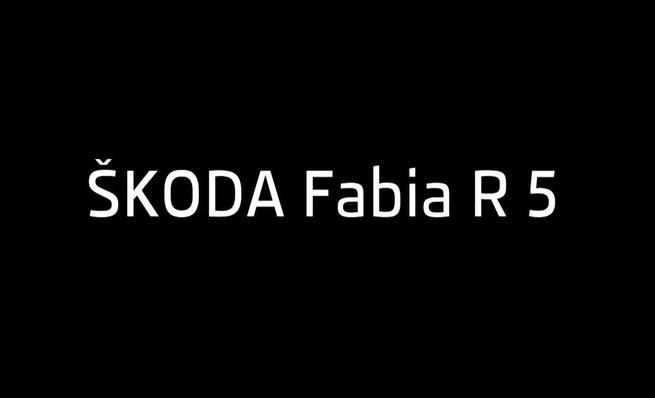 El nuevo Skoda Fabia R5 en video